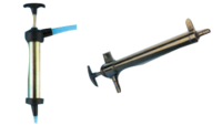 allpa Messing Olie-afzuigpomp vaste bevestiging op motor 52cc (extra zware messing uitvoering)