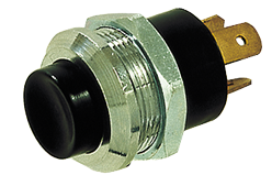 allpa Messing-verchroomde druk (contact) schakelaar  20A  boorgat Ø21mm
