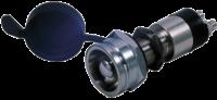allpa Messing-verchroomde druk (contact) schakelaar 30A boorgat Ø14mm met afdichtkap