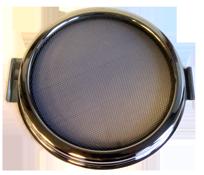 allpa Muggenhor voor RVS patrijspoort Ø215mm  openklapbaar model
