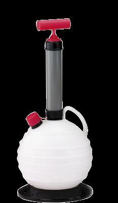 allpa Olie- & Vloeistofafzuigpomp 6l met slang & container (bol)