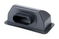 allpa Opzetstuk met achteraansluiting  Ø102mm  152X102  voor marine air conditioning systeem