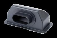 allpa Opzetstuk met achteraansluiting  Ø127mm  voor marine air conditioning systeem