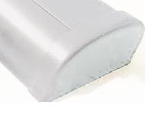 allpa PVC eindkap wit