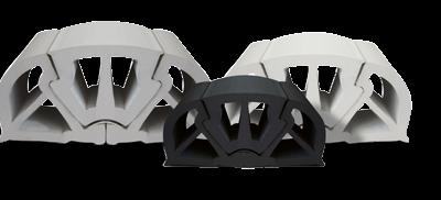 allpa PVC stootlijst  B=125mm  zwart (min. order 12m)