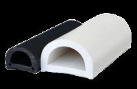 allpa PVC stootlijst dock 90 B=90mm zwart; rol van 16Mtr