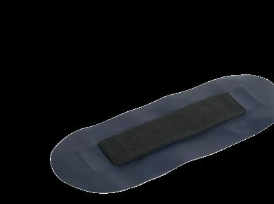 allpa Plakstrip voor zitbank voor allpa rubberboot (blauw)