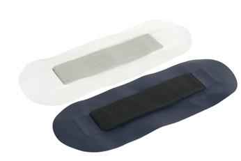 allpa Plakstrip voor zitbank voor allpa rubberboot (wit)