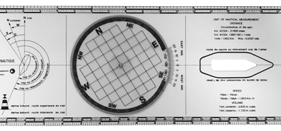 allpa Plexiglas Bretonse Plotter  koerslineaal