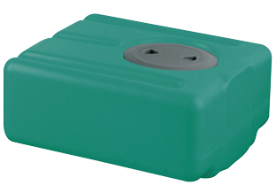 allpa Polyethyleen drinkwatertank  52l  750x390x200mm (H: +30mm vulaansluiting)