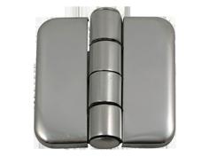 allpa RVS Afgedekt kastdeurscharnier  37x36x2mm