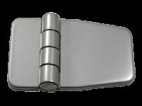 allpa RVS Afgedekt kastdeurscharnier  56x37x2mm