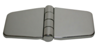 allpa RVS Afgedekt kastdeurscharnier  76x37x2mm