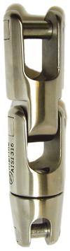 allpa RVS Ankerkettingverbinder  A=118mm  B=14mm  C=9mm  D=38mm  E=22mm (dubbel wartelend tot 850kg)