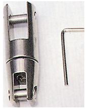 allpa RVS Ankerkettingverbinder  A=151mm  B=26mm  C=17mm  D=53mm  E=42mm (wartelend tot 1700kg)