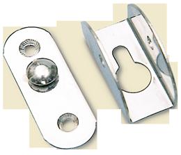 allpa RVS Bevestigingskit voor zwemtrap (set van 2 stuks) max. Ø25mm
