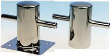 allpa RVS Bolder lasmontage  Ø100mm  H=195mm  stok 1x75mm + 1x35mm