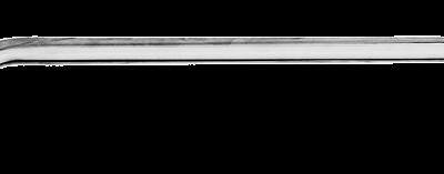 allpa RVS Handreling met M8-draadeinden Ø22mm H=105mm L=450mm
