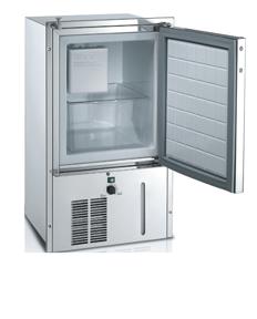 allpa RVS Ice Maker model IM Classic Refill P  230V  24l  26 0kg  140W/h