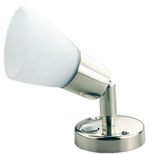 allpa RVS LED-Wandlamp  8-30V/3 1W  LED 1x 3W  H=153mm