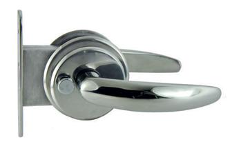 allpa RVS Magnetische deursluiting  deurdikte 28 5-35mm