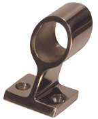 allpa RVS Railinghouder 60° Ø22 25mm H=49mm
