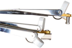 allpa RVS Ruitenwisserarm  L=350-450mm  verstelbaar