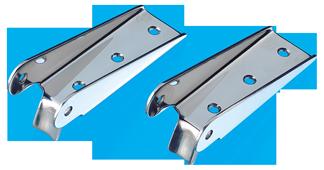 allpa RVS Scharnieren voor zwemplateau-ladder (set van 2 stuks) max. buis Ø32mm