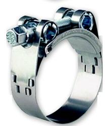 allpa RVS Slangklem met bout  80-85mm  breedte 24mm  dikte 1 5mm (prijs & verpakking per stuk)