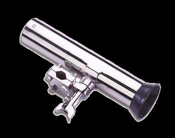 allpa RVS Verstelbare hengelhouder voor railingmontage (Ø25mm)  L=250mm  max. Ø40mm