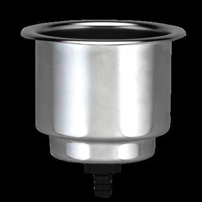 allpa RVS drankhouder niet klapbaar boorgat 90mm H=110mm