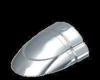 allpa RVS eindstuk voor Sphaera 35 met PVC base (paar B+C)