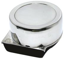 allpa RVS elektromagnetische mini scheepshoorn  1-tonig  Ø82mm  12V