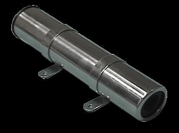 allpa RVS hengelhouder voor zijmontage  L=260mm  max. Ø45mm