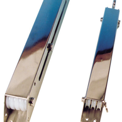 allpa RVS trimbox (bierstrekker)  2x 3 nylon schijven (Ø25mm)