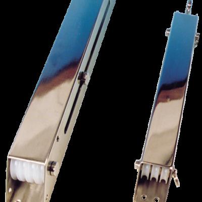 allpa RVS trimbox (bierstrekker) 2x 4 nylon schijven (Ø35mm)