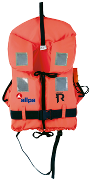 allpa Reddingsvest model Regatta Soft 15-30kg oranje (CE ISO 12402-4 100N)