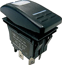 allpa Rocher Switch ON-OFF-ON (1x per motor)
