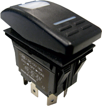allpa Rocker switch ON-OFF-ON (1x per motor)