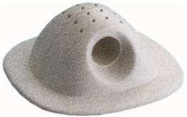 allpa Rubber houder voor lijn voor opblaasboten