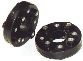 allpa Rubber koppelingen tot 200Nm  steek (A) Ø82 5 &108mm  breedte (E) 44mm