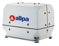 allpa Scheepsdieselgenerator model Paguro 8500  8 5kVA-8 0kW@1500 omw./min
