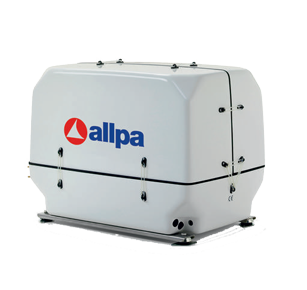 allpa Scheepsdieselgenerator model Paguro 9000 9 0kVA-8 0kW@3000 omw./min