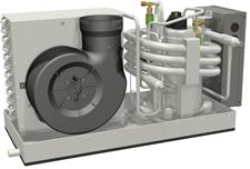 allpa Self-Contained unit  12000 BTU/h - 230V