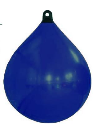 allpa Solid Head buoy  Ø650  L=880mm  donkerblauw met zwarte kop (maat 4)