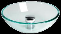 allpa Spoelbakken rond glas (zonder afvoer)  Ø420x140mm
