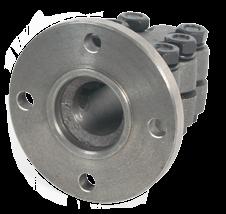 allpa Stalen klemflens met centreerrand  Ø35mm-as  center (F) Ø63 5mm  steek (I) Ø108mm