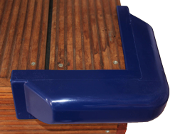 allpa Steigerfender groot hoek 60x500mm blauw