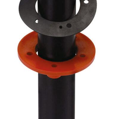 allpa Stijgpijp voor vuilwatertanks 483163 / 483171 pijp Ø35 5mm L=1000mm