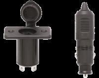 allpa Stopcontact met stekker 12V / 10A inclusief afdekkap